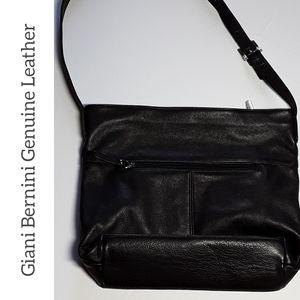 Giani Bernini Genuine Leather Crossbody Handbag
